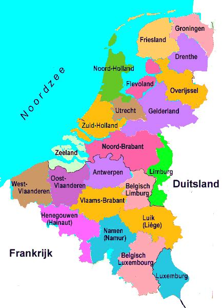 Sind Benelux Staaten by Benelux Map карте