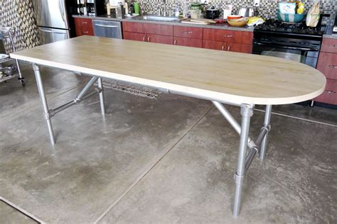 pipe kitchen island 10 diy kitchen island ideas that you can build yourself 1526