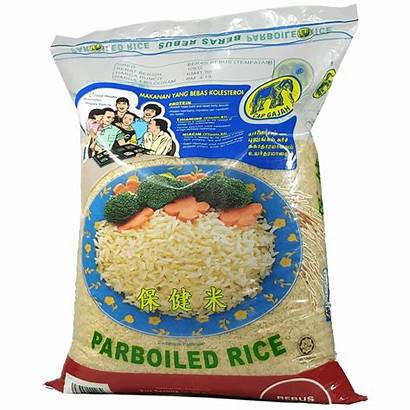 Rice Parboiled Cap Gajah 10kg Malaysia Beras