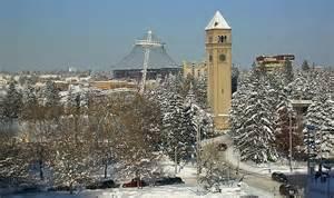 Washington Spokane WA Winter