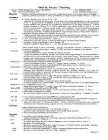 resume exles for high teachers high math teacher resume entry level objective free resumes sles divine primary