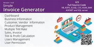 Free Download  Simple Invoice Generator