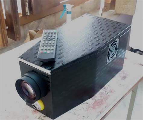 diy full hd  home  projector
