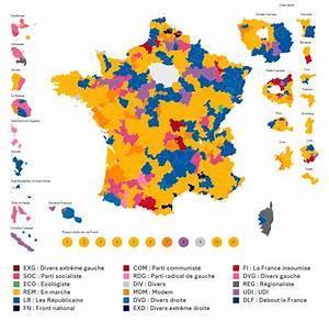 French legislative election, 2nd round (2017) - Vivid Maps