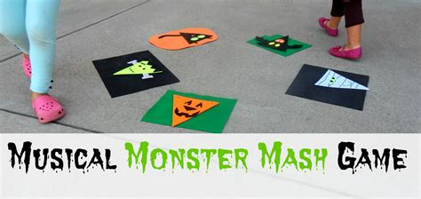I will start by reading the book monster musical chair first. Musical Monster Mash Game - Kids Play Smarter