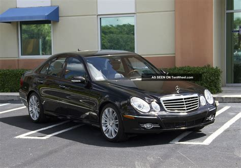 Benz E350 Base Sedan 4