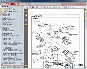 Toyota Corolla  Repair Manuals Download  Wiring Diagram  Electronic Parts Catalog  Epc
