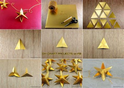 weihnachtssterne basteln einfache ideen und anleitungen