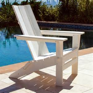 polywood modern trio folding adirondack chair mna110 lays flat for storage