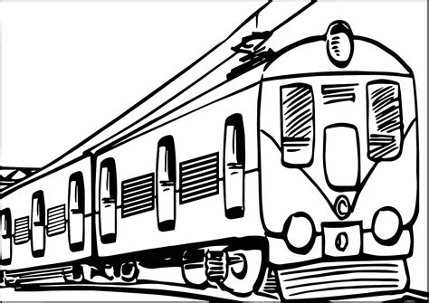 Goederentrein Kleurplaat by Transport Coloring Page Wecoloringpage