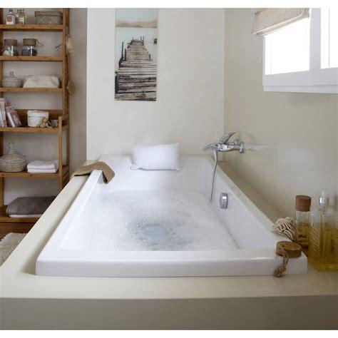 mitigeur cuisine professionnel baignoire rectangulaire l 180x l 80 cm blanc sensea