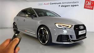 Audi Rs3 Sportback 2017 : inside the new audi rs3 sportback 2017 interior exterior details w revs youtube ~ Medecine-chirurgie-esthetiques.com Avis de Voitures