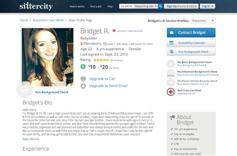 crafting an awesome sittercity profile sittercity