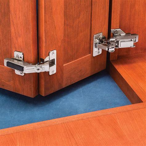 Hinges For Cupboard Doors by Blum 170 176 Pie Corner Hinge Kit Frame 1 2 Overlay