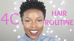 4c Healthy Hair Routine