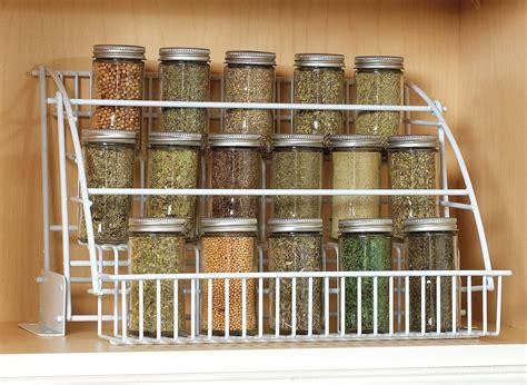 Rubbermaid Pull Down Spice Rack Organizer Shelf Cabinet