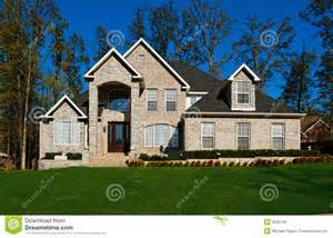Beautiful Two Story House by Beautiful Two Story Home Royalty Free Stock Photos Image