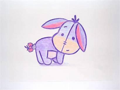 Eeyore Cutie Deviantart Drawings Disney Draw Easy