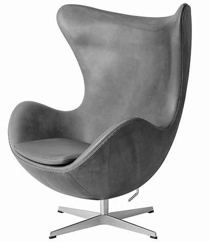 Egg Jacobsen Chair Arne Leather Lounge Fritz