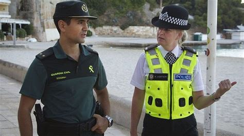 British Cops In Magaluf Say First Patrols Went Well Bbc Newsbeat