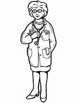 Doctor Coloring Pages Doctors Labor Hospital Printable Jobs Activities Sheets Sheet Play Games Primarygames Pdf Police Helpers Community sketch template