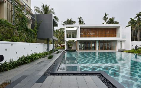 pool house abin design studio archdaily