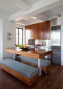 amenager une petite cuisine 40 idees pour le design With meuble pour studio petite surface 3 cuisine pour studio comment lamenager