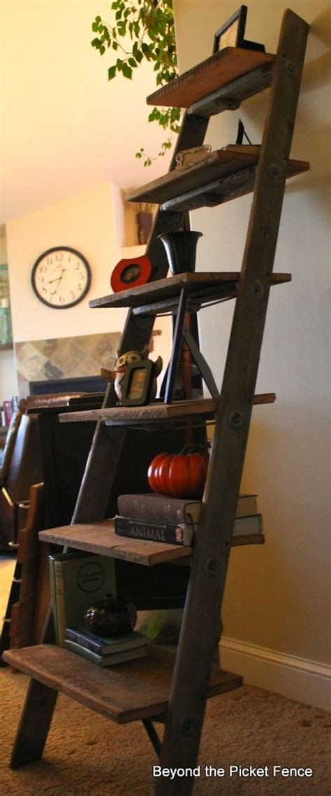 wood ladder shelf 30 ladder shelf exles