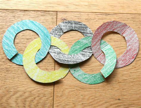 Anneaux olympiques imbriqués - Cabane à idées