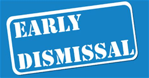 Image result for Early dismissal