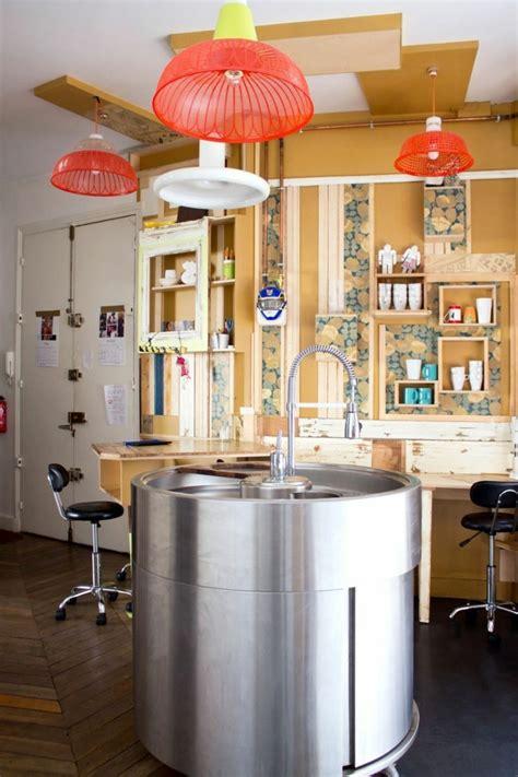 la cuisine des italiens la cuisine équipée avec îlot central 66 idées en photos archzine fr