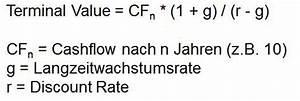 Rate Berechnen Formel : dcf verfahren wie du den fairen wert einer aktie bestimmst ~ Themetempest.com Abrechnung
