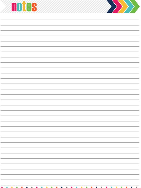 images  blank notes page printable blank notes