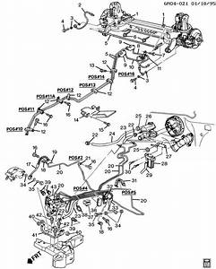 94 Eldorado Brake Line And Component Diagram