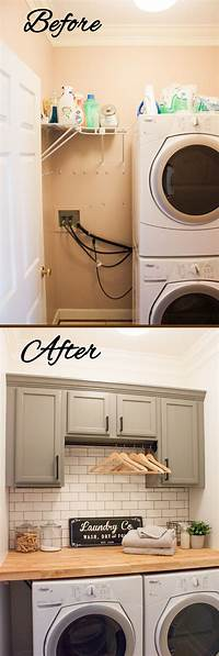 laundry room makeovers 23 Best Budget Friendly Laundry Room Makeover Ideas and ...