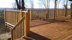 Balustrade En Bois : terrasse en bois toulouse ~ Melissatoandfro.com Idées de Décoration