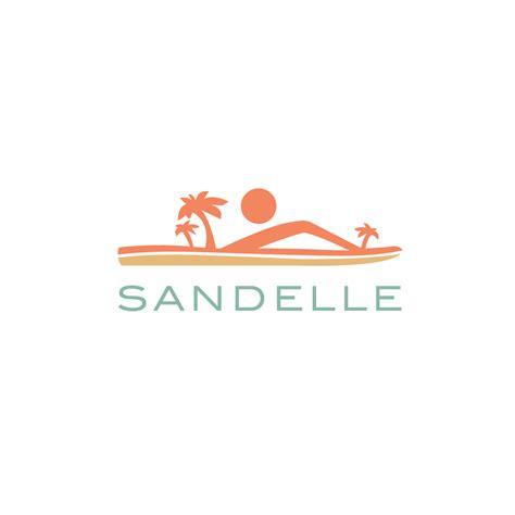 logo  salesandelle beach sandal logo design logo cowboy