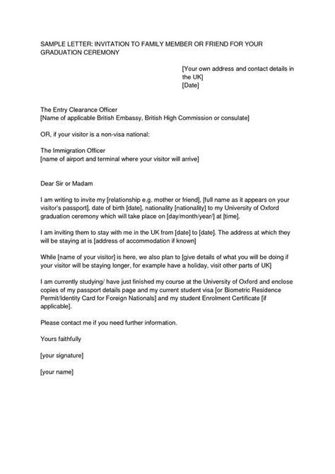 letter  invitation  uk visa template resume template