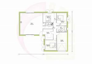 maison individuelle de plain pied en quotlquot tali 95 m2 With faire plan de sa maison 2 maison pour primo accedants detail du plan de maison