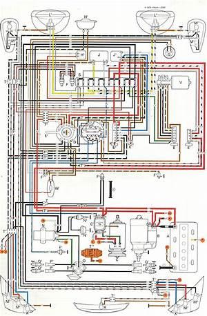 1959 Vw Beetle Wiring Diagram 41231 Verdetellus It