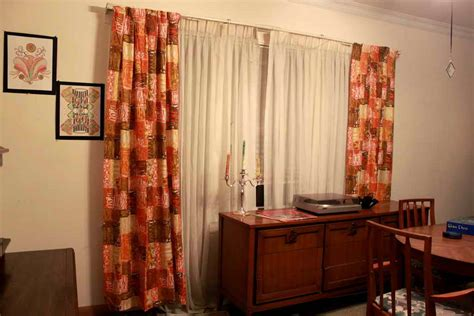 mid century modern curtains doors windows mid century modern drapes mid