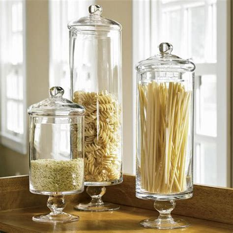 glass storage jars for kitchen decorating with apothecary jars in kitchen jars and 6852