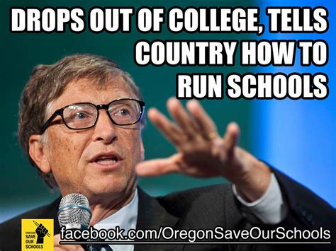 Bill Gates Meme - bill gates funds the media including the seattle times education lab then secretly meets with