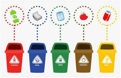 Recycle Clipart Recycling Trash Line Transparent Types