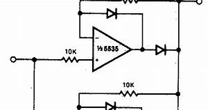 Forum Diagram  Precision Full Wave Rectifier Wiring Diagram Schematic