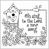 Coloring Christian Printable Bible Sheets Religious Colouring Children Church Printables Sheet Scripture Sunday Lord Adults God Verses Hymn Easter Cards sketch template