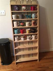 Display, Shelves, For, Coffee, Cups, Another, Daughter, Dad, Project