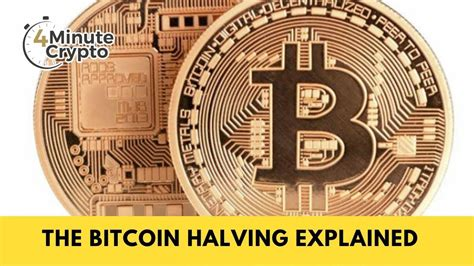 In this article, we'll explain what a bitcoin halving is, and will look at its historical price impact. The Bitcoin Halving, Explained - YouTube