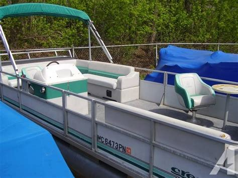 Used Boat Parts Mi by 1993 Crest 24 Pontoon Boat For Sale In Michigan