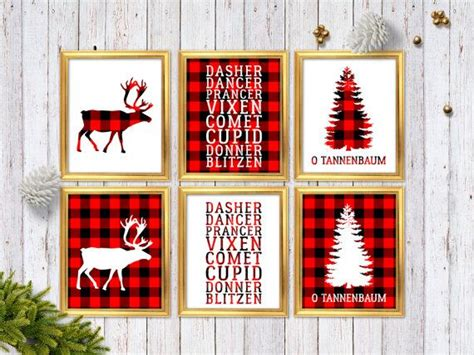 ideas  christmas wall art  pinterest